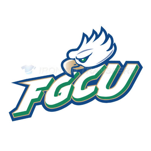 Florida Gulf Coast Eagles Iron-on Stickers (Heat Transfers)NO.4391
